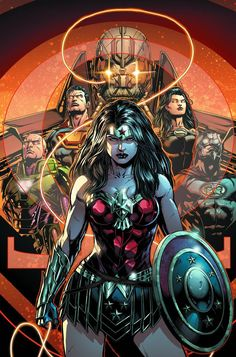 "Super-star artist Jason Fabok returns as the second act of ""DARKSEID WAR"" begins! As the members of the Justice League struggle with their new Godhood ..."