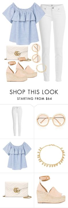 Unbenannt #599 by vanileeeeeeen on Polyvore featuring moda, MANGO, Paige Denim, Chloé, Gucci and Bling Jewelry
