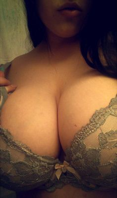 Corset tits naked selfie
