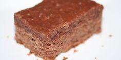 Herlig Den du ved nok kage med det lækreste fyld/glasur på toppen. Altid populær hos hele familien.