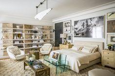Variations sur la serenite dans l'appartement parisien du décorateur libanais Chahan Minassian