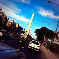 Obelisco - Calle 9 de julio - Buenos Aires - Argentina