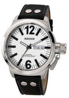 f7179282415 Magnum MA31524Q Men s Watch White Dial With Screw-In Crown Protector  Riodejaneiro