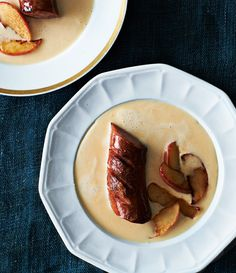 Beer and Cheddar Soup with Kielbasa Sausage #Vitamix Get FREE Shipping at Vitamix.com with Code 06-006499