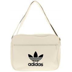 8a3ad2d62 Adidas leather - bag MESSENGER AIRLINER ADICOLOR - adjustable shoulder strap