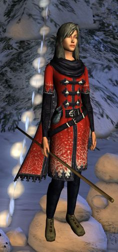 yule festival cosmetics, dyed red