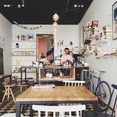 Harry recommends: The Exhibitionists Coffee shop. http://theexhibitionists.fi/ (Museokatu 28, Helsinki)