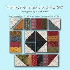 100 Blocks Sampler Sew Along   Block 34