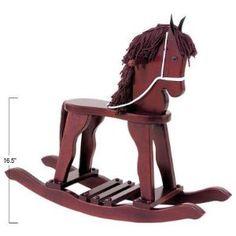 KidKraft Derby Rocking Horse - White (Toy)  http://postteenageliving.com/amazon.php?p=B0006IRUAO