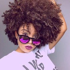 Natural Hair Care Tips That Will Show Your Beauty From Any Angle Natural Curls, Natural Hair Care, Natural Hair Styles, Hair Inspo, Hair Inspiration, Curly Fro, Hair Flow, Afro Style, Natural Women