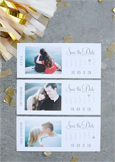 QUIERO UNA BODA PERFECTA: Tutorial: ¡Save The Date gratuito para tu boda!