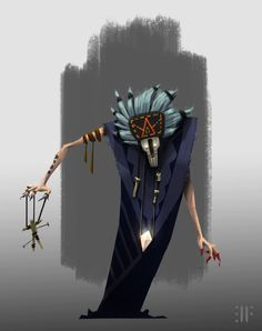 ArtStation - Big Bad Voodoo, David Fortin