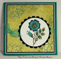 A Blue Fancy Flower (by Shirley)