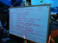 """Fecha: 12/6/11. Hora: 12.19. Tuit original: """"Orden del día #acampadaSol""""."""