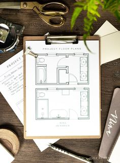 Follow along as a dated 1980s beige and builder-grade bathroom gets a modern makeover and read all of the Primary Bathroom Project Plans! #BathroomReno #BathroomMakeOver #Bathrooms