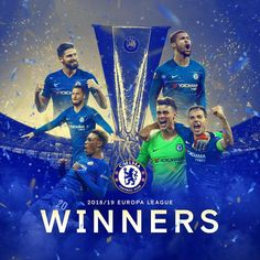 Chelsea FC are Europa League winners! They beat English rivals, Arsenal, With goals coming from Pedro, Olivier Giroud, and Eden Hazard. Congrats to the blues💙💙💙🔥🔥🔥🙌🙌🙌🙌 Info Football, Football Soccer, Soccer Sports, College Football, Chelsea Champions, We Are The Champions, Fifa, Fc Chelsea, Chelsea Football
