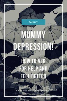 Depression in Motherhood www.wineinateacup.co.za