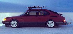 '90 Saab 900 Turbo With Saab Roof Rack & Nordic Tuning