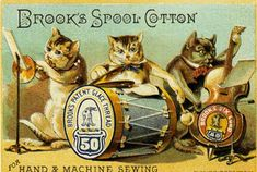 Brooks Spool Cotton