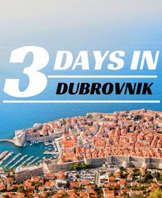 Things to do in Croatia: Spend 3 days in Dubrovnik Itinerary - Travel Croatia Like a Local with Chasing the Donkey http://www.chasingthedonkey.com/3-day-dubrovnik-itinerary/