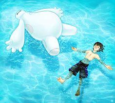 http://www.deviantart.com/art/swimming-lessons-472741573