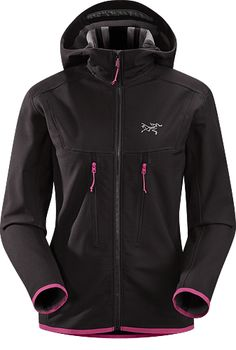 """Acto MX Hoody: Highly breathable mid-layer, hooded hardfleece provides bulk-free warmth for all day activity."""