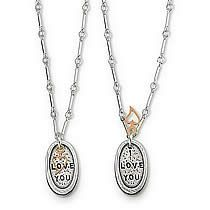 I Love You, Inspirational Jewelry Quotes $70