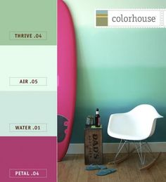 Paint Palette Inspiration With Colorhouse