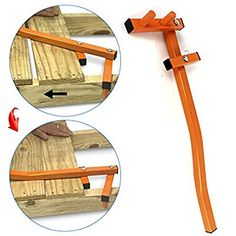 Easygo Deck Board Bending Bow Straightening Tool D UK Wood Tools, Diy Tools, Welding Projects, Wood Projects, Construction Tools, Homemade Tools, Wood Slats, Tool Steel, Building A Deck