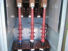Remarkable, very High voltage cable termination are