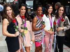 The fabulous US Gymnastics Five! #celebrateSparkle