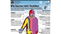 Kle barna i kulden