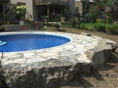 Pools :: Semi Inground Pools :: Eternity Kidney - Pool Supplies Canada