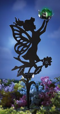 Solar Fairy Shadow Stake Garden Decoration