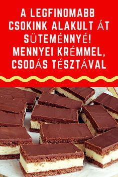 Hungarian Food, Hungarian Recipes, Deserts, Muffin, Cookies, Chocolate, Bakken, Crack Crackers, Hungarian Cuisine