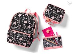 J'adore backpacks & supplies with perfect Paris prints.