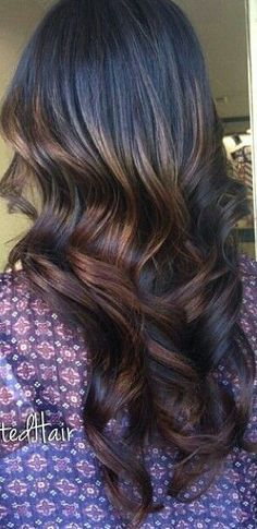 Dark ombre hair
