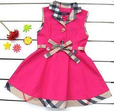 Baby Girl Frocks, Frocks For Girls, Little Girl Dresses, Kids Frocks Design, Baby Frocks Designs, Baby Girl Frock Design, Kids Dress Wear, Baby Dress Patterns, Baby Kind
