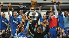 Olympique de Marseille - Champion of French League Cup 2012