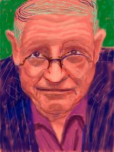 Self-portrait (21 March 2012) David Hockney