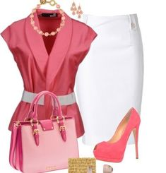 A fashion look from July 2013 featuring Love Moschino blazers, Moschino skirts and Giuseppe Zanotti pumps. Browse and shop related looks. Classy Outfits, Beautiful Outfits, Casual Outfits, Mode Outfits, Fashion Outfits, Womens Fashion, Fashion Trends, Work Fashion, Fashion Looks