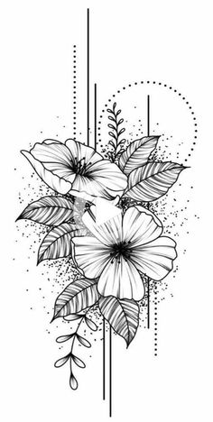 50 arm floral tattoo designs for women 2019 - page 19 of 50 - . - 50 arm floral tattoo designs for women 2019 – page 19 of 50 – - Flower Sketches, Art Drawings Sketches, Tattoo Sketches, Tattoo Drawings, Cute Tattoos, Body Art Tattoos, Small Tattoos, Sleeve Tattoos, Dna Tattoo