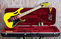 Ibanez Jem Guitars 777DY 30th Anniversary Edition!