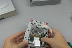 Arduino CNC Laser Enrgaver From DVD Drive : 8 Steps (with Pictures) - Instructables Arduino Cnc, Cnc Router, Graveuse Laser, Diy Laser Engraver, Laser Engraving, Electronics Mini Projects, Diy Electronics, Craft Projects, Projects To Try