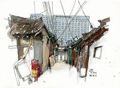 L⃜a⃜ A⃜⃜e⃜n⃜g⃜  (@laaeng_art) в Instagram: «- 익선동, 서울 20170821 Seoul, south korea   #aquarell #art #painting #watercolor #sketch  #paint #painting #sketch #drawing #sketching #sketchbook #travelbook #arch_more #archisketcher #sketchaday #sketchwalker #sketchcollector #artbook #artjournal #traveldiary #topcreator #usk #urbansketchers #urbansketch #скетчбук #скетч #скетчинг #pleinair #aquarelle #watercolorsketch #usk #architecture
