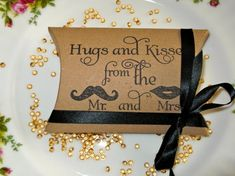 Wedding Favors Pillow Boxes x 100 - ideal for wedding favors, showers, parties
