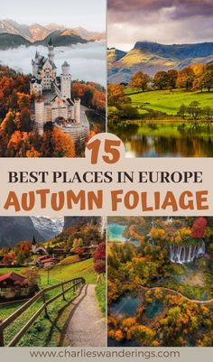 Are you looking for the best places for Autumn foliage in Europe? Well, you're not the only one! Autumn foliage, Fall colours, autumn leaves, fall foliage, autumn photography, autumn europe travel, autumn europe when to visit, autumn europe beautiful places, fall europe beautiful places, best places for fall foliage, autumn colours