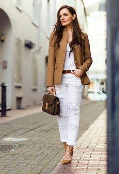 White + Camel  @thestylemma