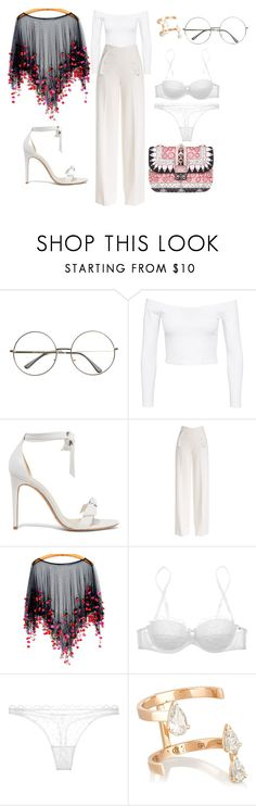 """#29"" by lovrek-ema ❤ liked on Polyvore featuring Jeane Blush, Alexandre Birman, Derek Lam, Nina Ricci, Repossi and Valentino"