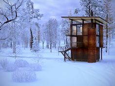 CGarchitect - Professional 3D Architectural Visualization User Community | Delta Shelter